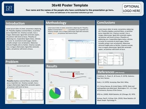 poster presentation template 36 x 48 poster presentation template 36