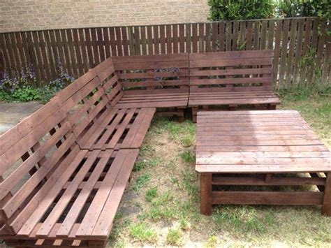 pallet outdoor sectional diy pallet sectional sofa and table ideas pallet