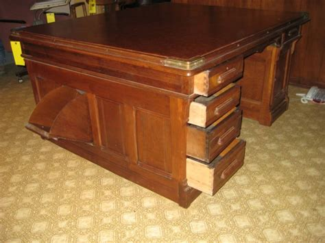 Antique Sided Partners Desk by Antique Partners Desk Sided 2 Person Desk With