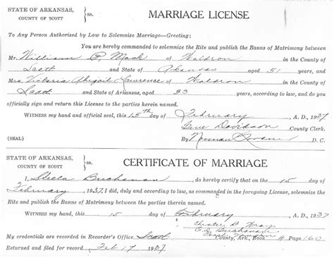 Ar Marriage Records Ylaszyru Government Birth Marriage Records