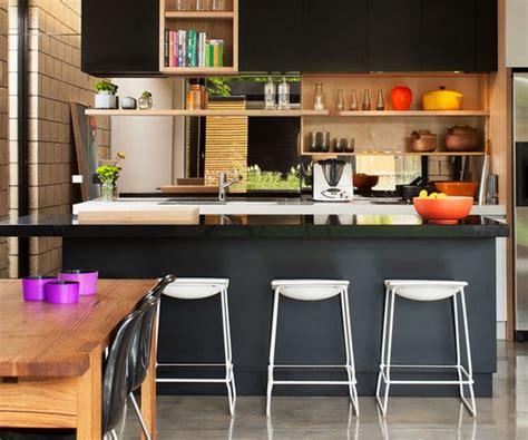 D 233 Co Petite Cuisine Ouverte Deco Maison Moderne