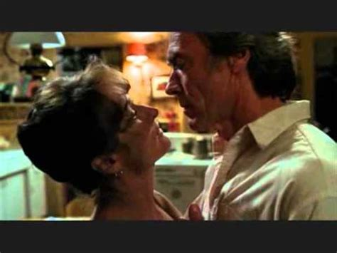 bridges of madison county bathtub scene kiss scene los puentes de madison the bridges of