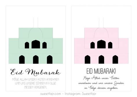 free printable eid card templates free printable pop up mosque cards eid crafts comes in
