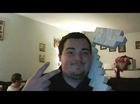 Origami Minecraft Pickaxe - origami minecraft pickaxe