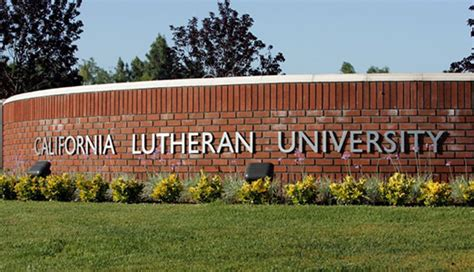 California Lutheran Mba Tuition by California Lutheran Sign