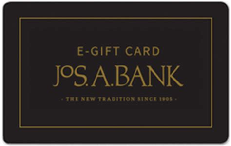 Jos A Bank Gift Card - e gift card jos a bank established 1905