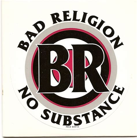 Cd Bad Religion No Subtance bad religion no substance b sides 1998 lyrics lyric