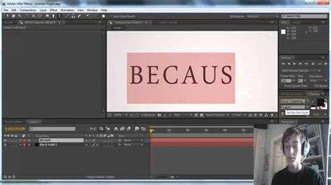 tutorial after effects handwriting hand writing effect tutorial adobe after effects