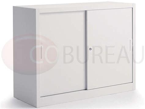 armoire metallique basse armoire m 233 tallique basse 224 portes coulissantes