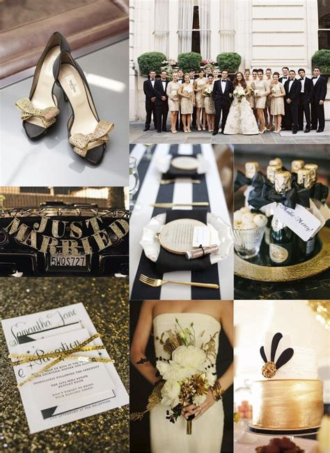 153 best images about black white n gold wedding theme on