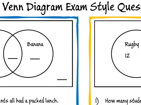 gcse diagram maths gcse ks3 venn diagram revision questions by moggga