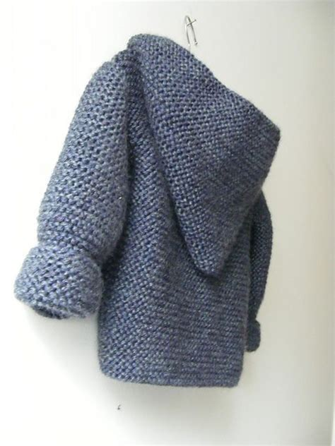 baby hooded sweater knitting pattern hooded baby jacket designed by mme bottedefoin free
