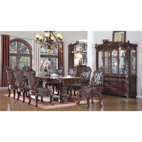 meridian furniture 701 10pc set barcelona 10 dining