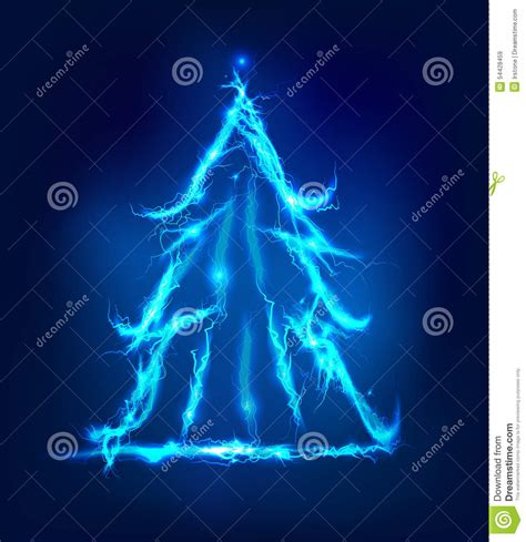 christmas tree electric parts tree abstract background made of electric lighting stock illustration image 54428459