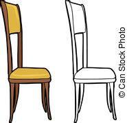 stuhl der seite zeichnen stuhl illustrationen und clip 83 557 stuhl