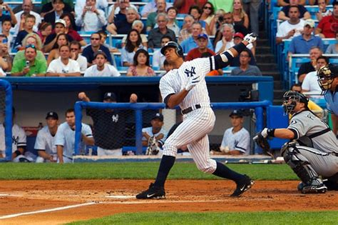alex rodriguez swing best all time major league baseball team