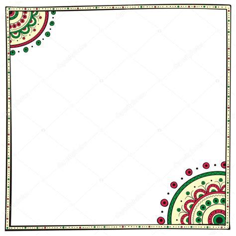 borders design elements vector ethno border design element vector stock vector