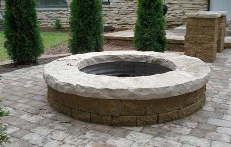Firepit Top Firepit With Lannon Top