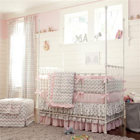 baby mädchen schlafzimmer ideen dekor babyzimmer grau