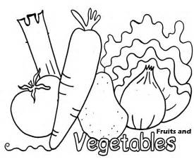 Vegetables And Fruits Coloring Pages coloring pages of fresh fruit and vegetables learn to