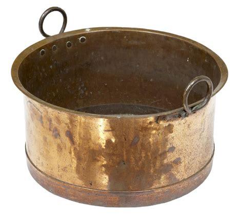 antique copper 19th century large copper cooking pot 248110
