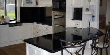 granite kitchen top galaxy black stonemasons melbourne