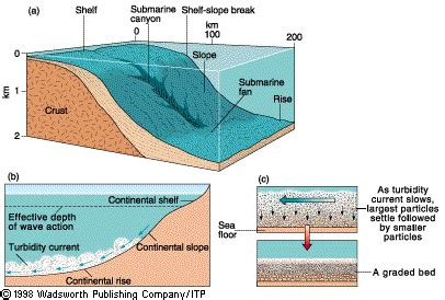 Continental Shelf Slope And Rise by Sea Morphpology