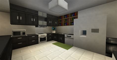 Kitchen Ideas For Minecraft Modern Kitchen Minecraft Minecraft Creations
