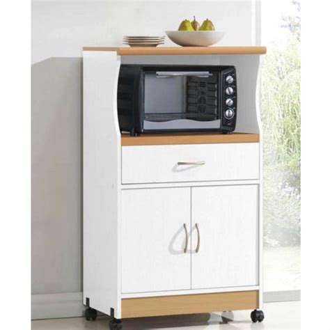 microwave cart with drawer white white kitchen utility cabinet microwave cart with caster