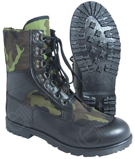 army pattern boots ł czech army jungle boots model 95 ačr boty vz95