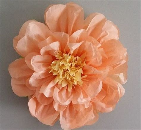 Handmade Flowers From Tissue Paper - best 25 tissue paper flowers ideas on paper
