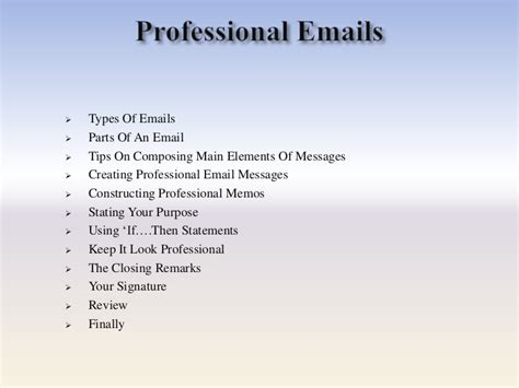format of professional email fresh 11 email writing examples pdf