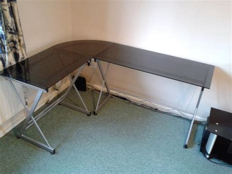 L Shaped Desk For Sale Used Office Desks Tables For Sale For Sale In Cambridge Cambridgeshire Gumtree