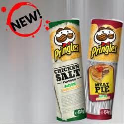 Pringles Australia pringles release australian flavours ahead of footy finals