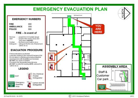emergency evacuation plan template evacuation plan prepare now in the event of an evacuation