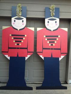 christmas soldier steps to drawyard sign yard decorations on yard wood yard and yard
