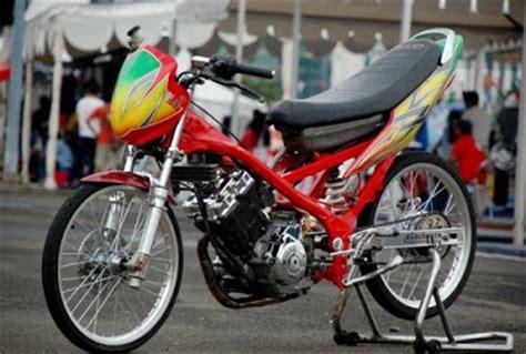 kumpulan foto gambar motor drag satria fu oto trendz