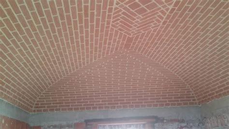 soffitto a volta mattoni volta a padiglione nuova