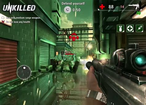 mod game unkilled unkilled v0 4 0 mod apk infinite ammo more download