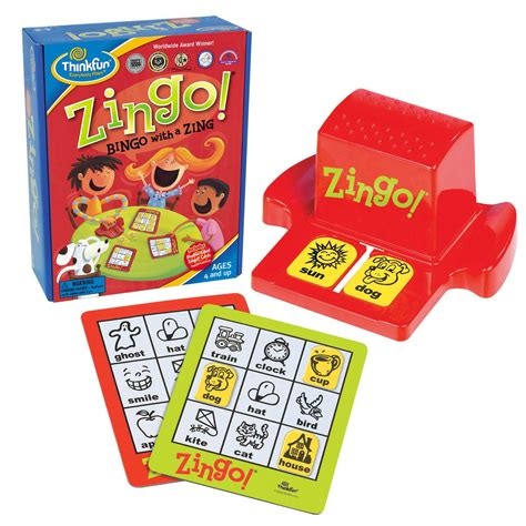 think toys think zingo toys family board board