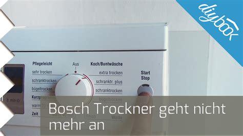 Bosch Waschmaschine Mit Trockner by Bosch Trockner Geht Nicht An