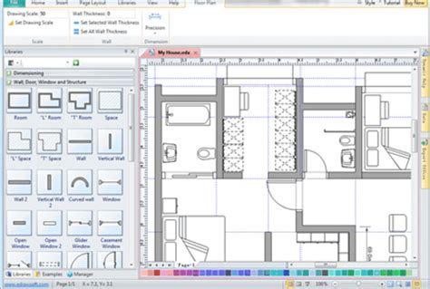 free 2d floor plan software exterior home design software with own photos joy studio