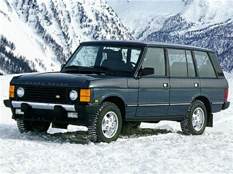 1995 land rover range rover pricing ratings reviews kelley blue book 1992 land rover range rover reviews specs and prices cars com