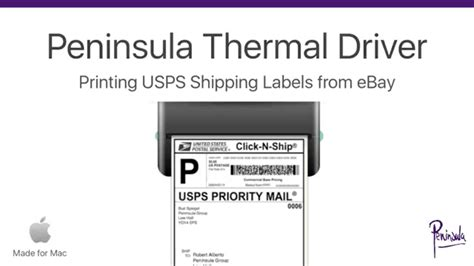 printable labels ebay printing ebay shipping labels for usps with a thermal