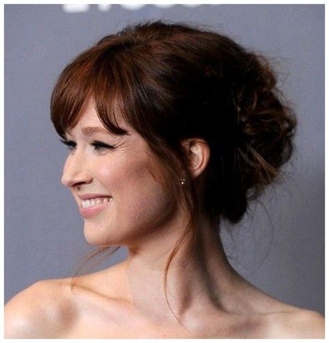Wedding Hair Bangs Updo by 11 Best Updos With Bangs Images On Wedding