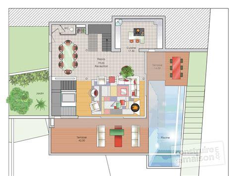 Construire Sa Maison En 3d Gratuit 769 by Plan D Une Maison Moderne Qo67 Jornalagora