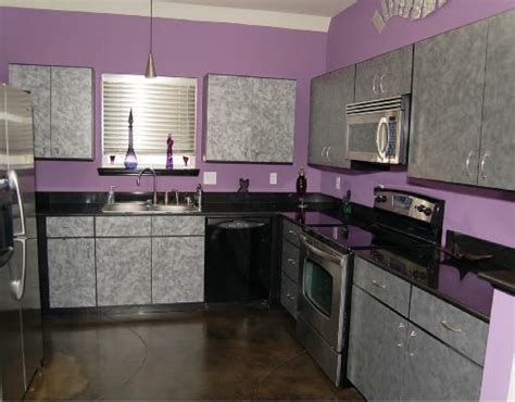 purple kitchen design beauty houses purple modern interior designs kitchen