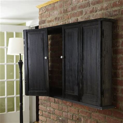Tv Cabinet With Doors To Hide Tv Wall Hung Tv Cabinet 37 Easy Ways To Add Storage To Every Room This House