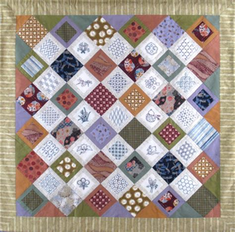 The Patchwork Teahouse - sashiko quilt and wall hanging designs sashiko