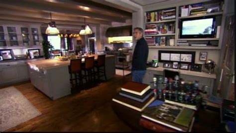 george clooney houses a peek inside george clooney s l a home hooked on houses